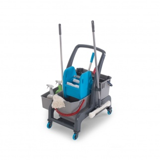 JET CLEANING SET WITH PRESS, ACCESSORY & WINDOW CLEANING BUCKET 25 & 22 LITERS фото 36001